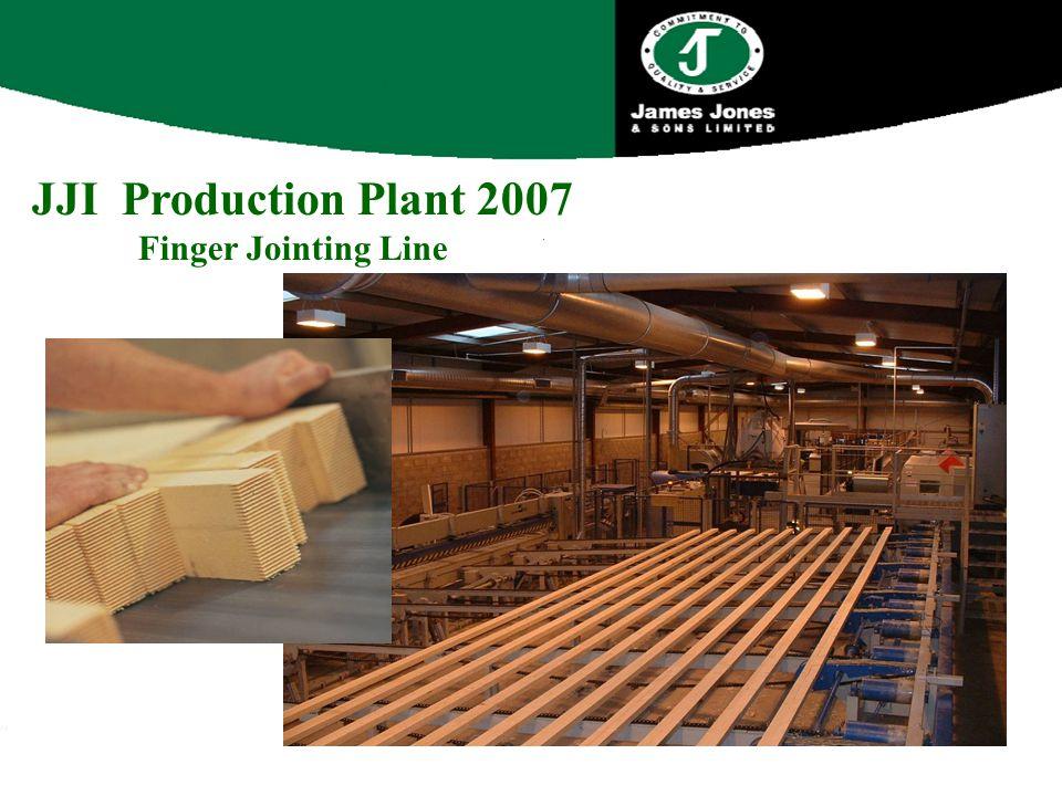 JJI Production Plant 2007 Finger Jointing Line
