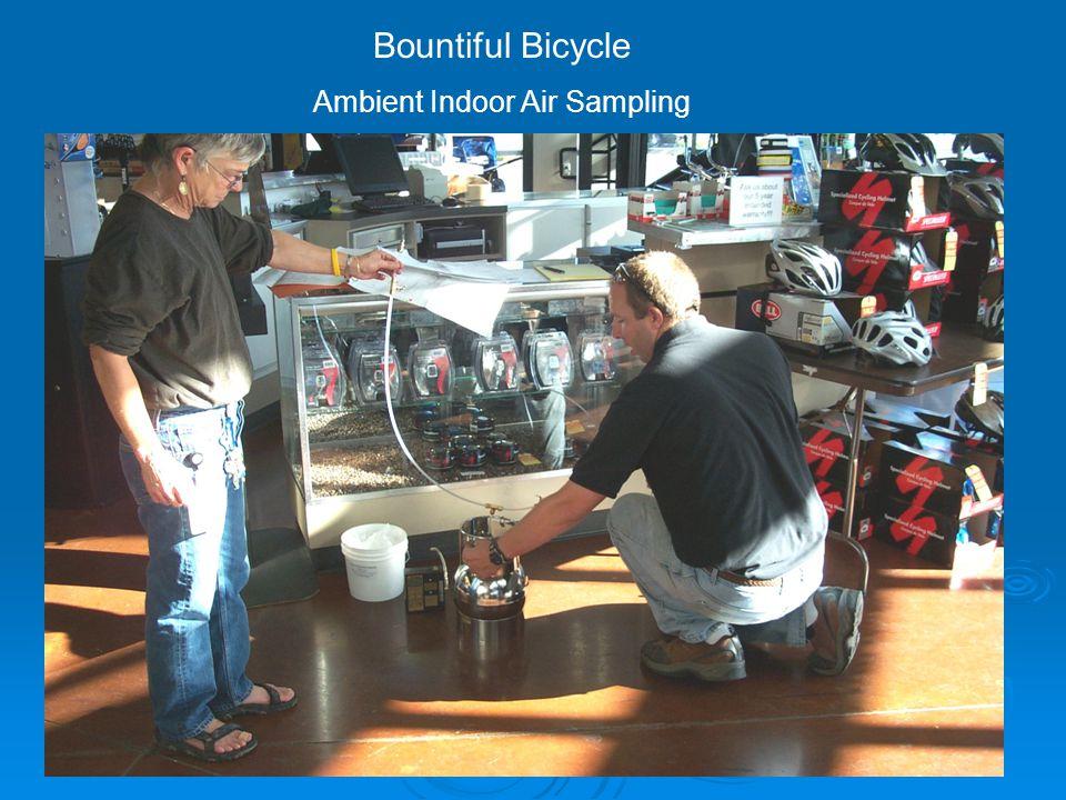 Bountiful Bicycle Ambient Indoor Air Sampling