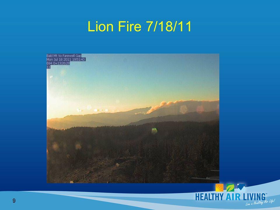 Lion Fire 7/18/11 9