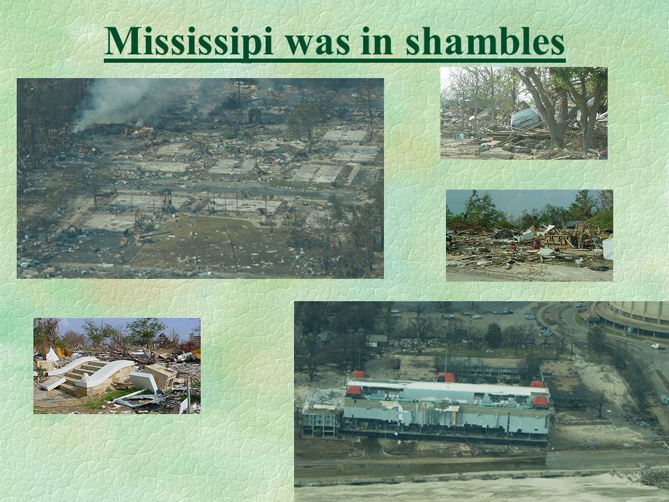 No significant amplification was observed in Mississippi