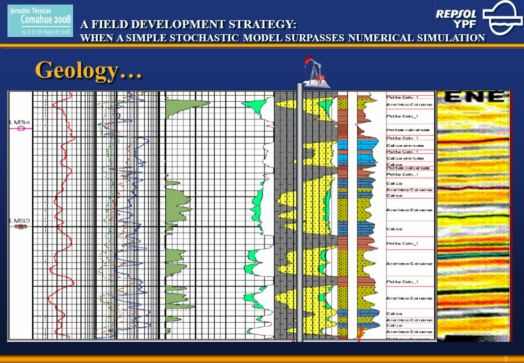 A FIELD DEVELOPMENT STRATEGY: WHEN A SIMPLE STOCHASTIC MODEL SURPASSES NUMERICAL SIMULATION A FIELD DEVELOPMENT STRATEGY: WHEN A SIMPLE STOCHASTIC MODEL SURPASSES NUMERICAL SIMULATION 5 Geology…Geology…