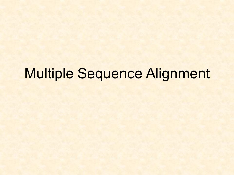 Multiple Sequence Alignment (MSA) Can define most similar regions in a set of proteins –functional domains –structural domains If structure of one (or more) members is known, may be possible to predict some structure of other members