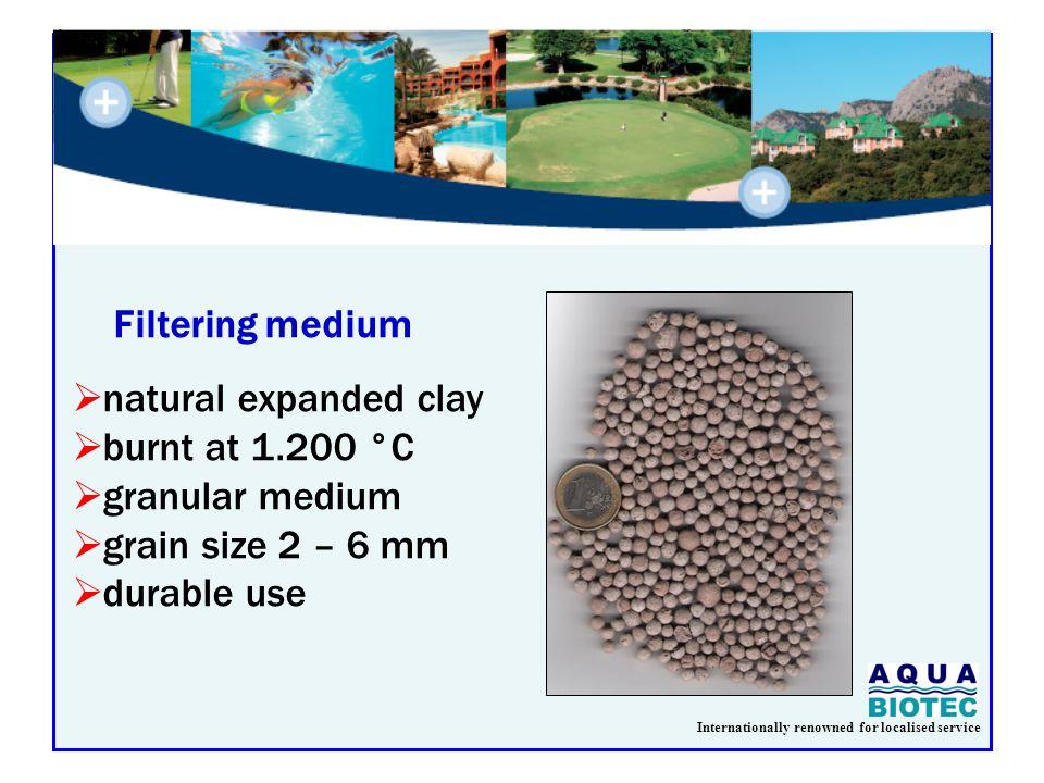Internationally renowned for localised service Kg DS/kg BOD el BiofiltrationActivated Sludge 0,4 0,6 1,2 Specific Sludge Production Biofiltration – Activated Sludge