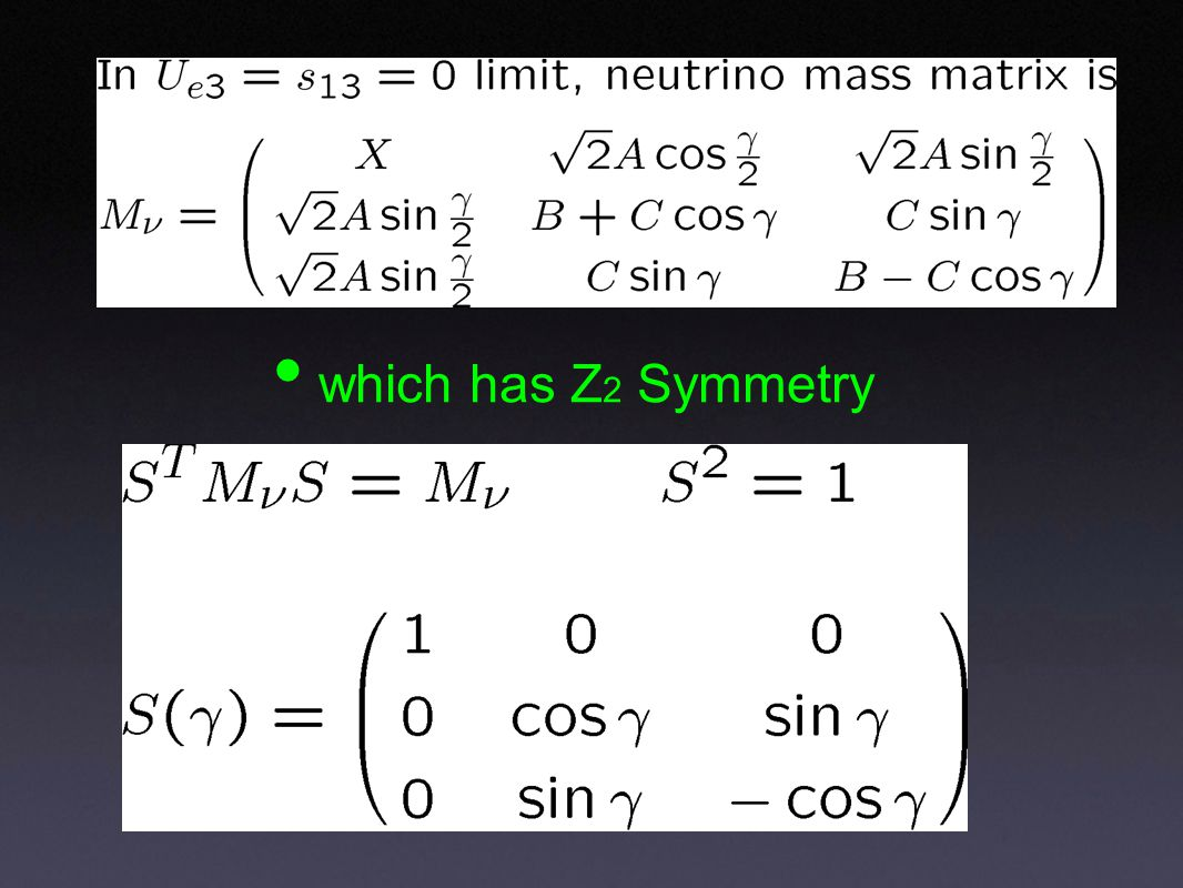 which has Z 2 Symmetry