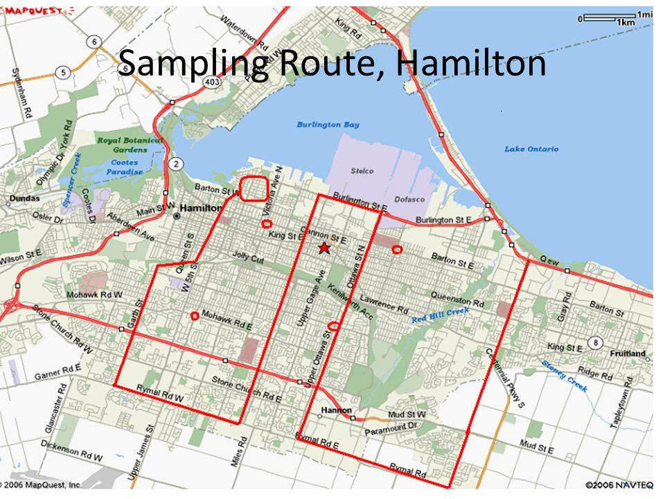 Sampling Route, Hamilton