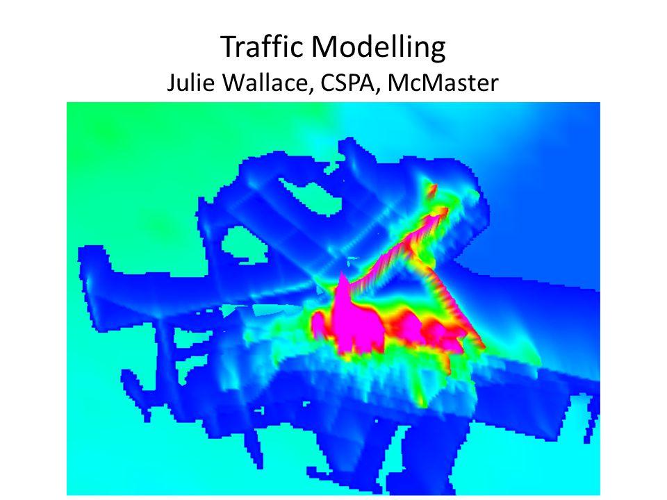 Traffic Modelling Julie Wallace, CSPA, McMaster