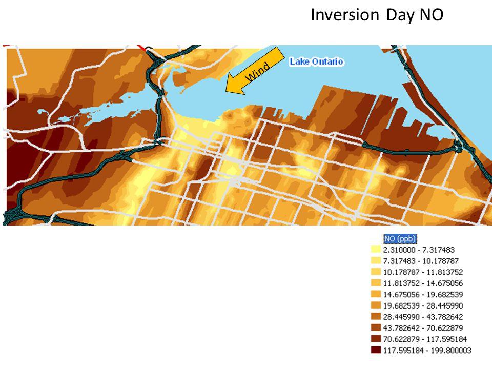 Inversion Day NO Wind