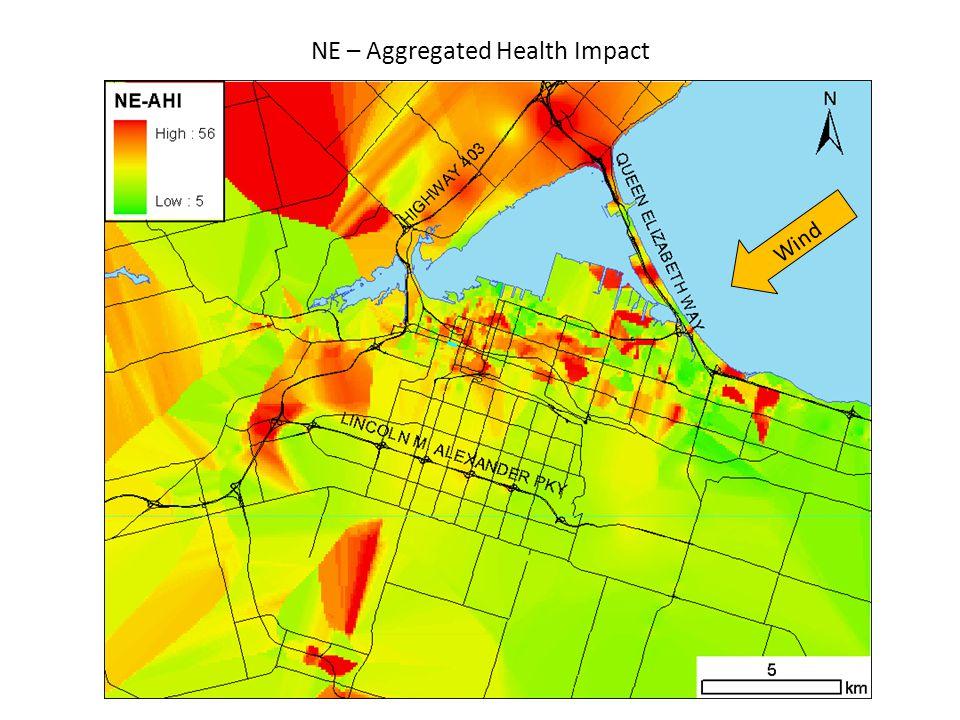 NE – Aggregated Health Impact Wind