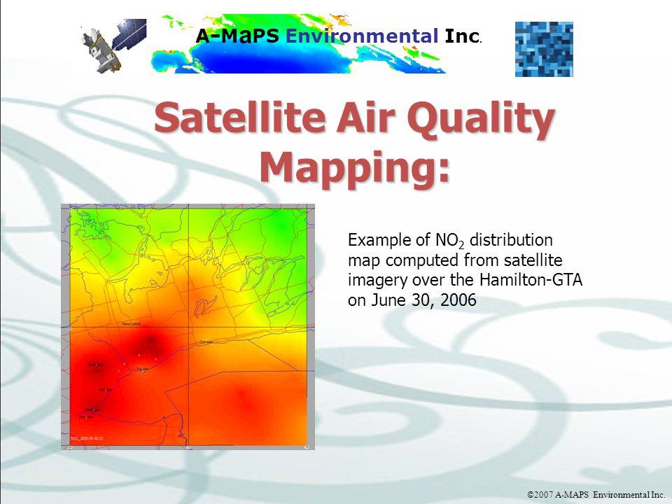 ©2007 A-MAPS Environmental Inc.