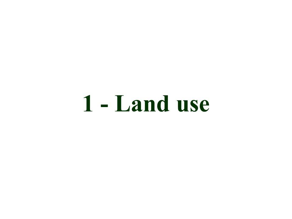 1 - Land use