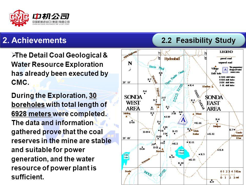版权所有: CMC  The Detail Coal Geological & Water Resource Exploration has already been executed by CMC.