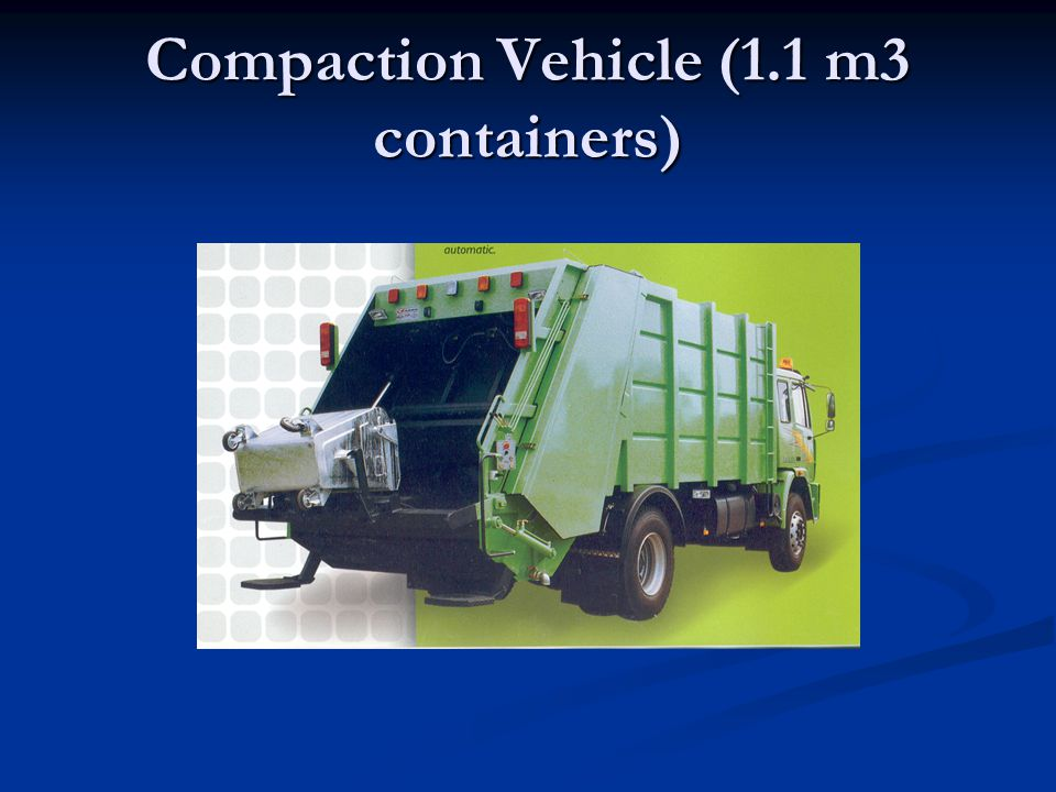 Compaction-4.3m3 containers
