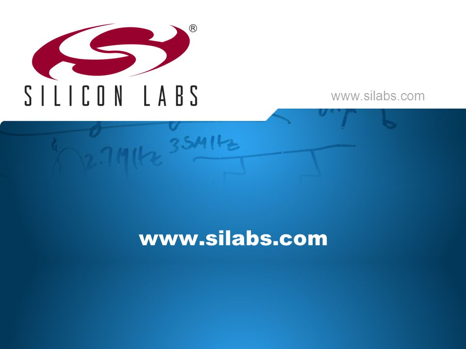 www.silabs.com