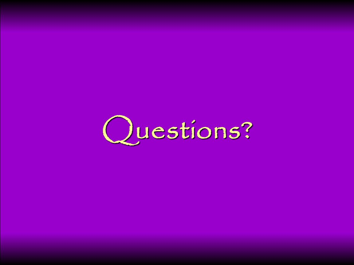 103 Questions?