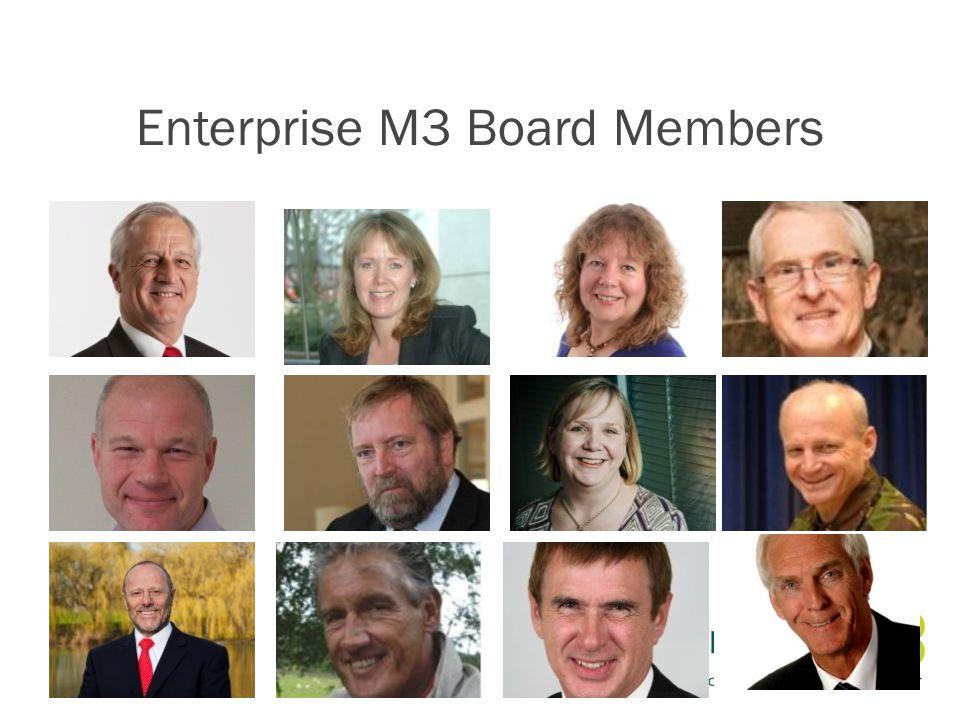 Enterprise M3 Board Members