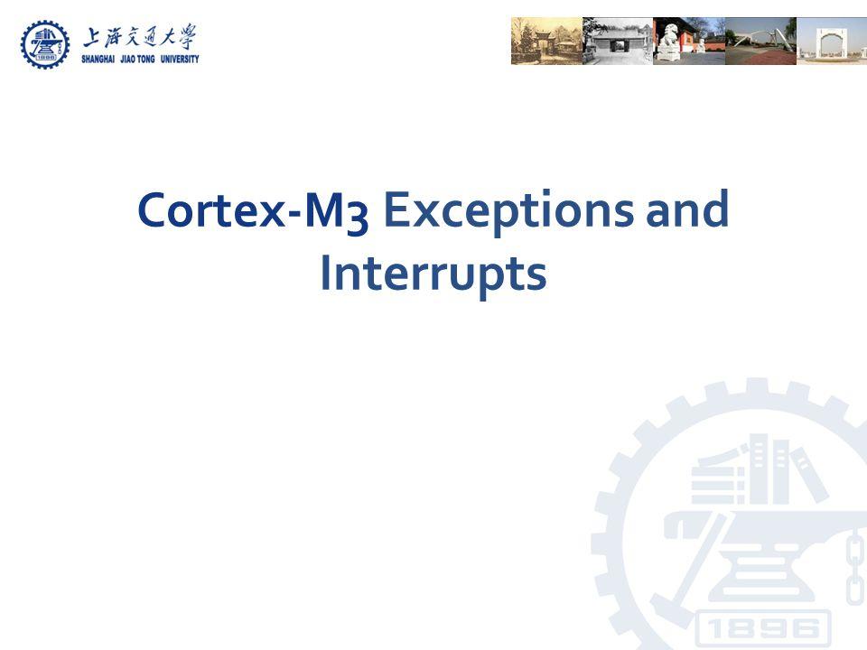NameTypeAddressReset ValueDescription SETPEND0R/W0xE000E2000Pending for external interrupt #0-31 SETPEND1R/W0xE000E2040 Pending for external interrupt #32- 63 …………… SETPEND7R/W0xE000E21C0 Pending for external interrupt #224- 239 CLRPEND0R/W0xE000E2800 Clear pending for external interrupt #0-31 CLRPEND1R/W0xE000E2840 Clear pending for external interrupt #32-63 ………… CLRPEND7R/W0xE000E29C0Clear pending for external interrupt #224-239 Interrupt Set Pending Registers and Interrupt Clear Pending Registers