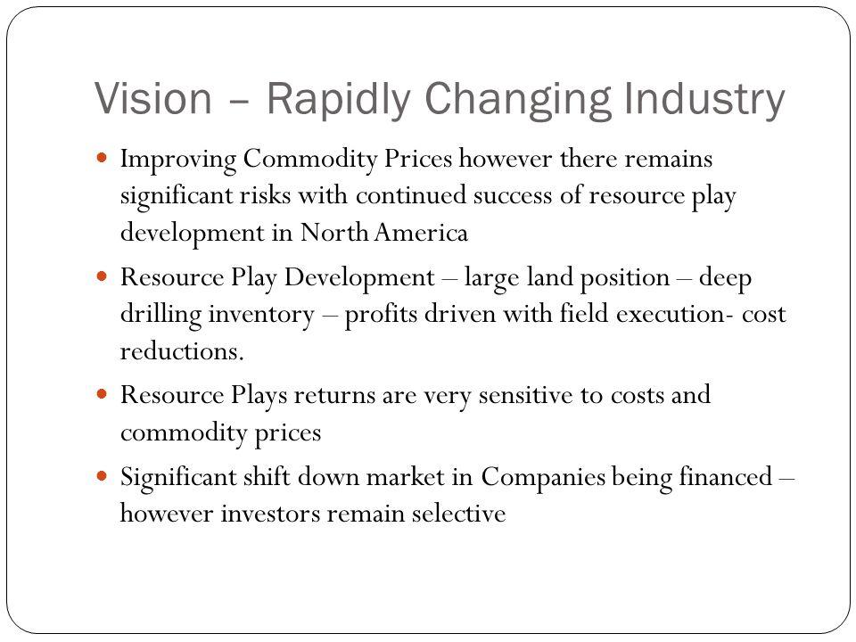 Revenue Streams and Field Margins