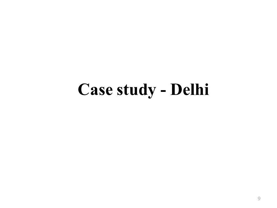 Case study - Delhi 9