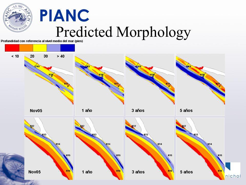 PIANC Predicted Morphology
