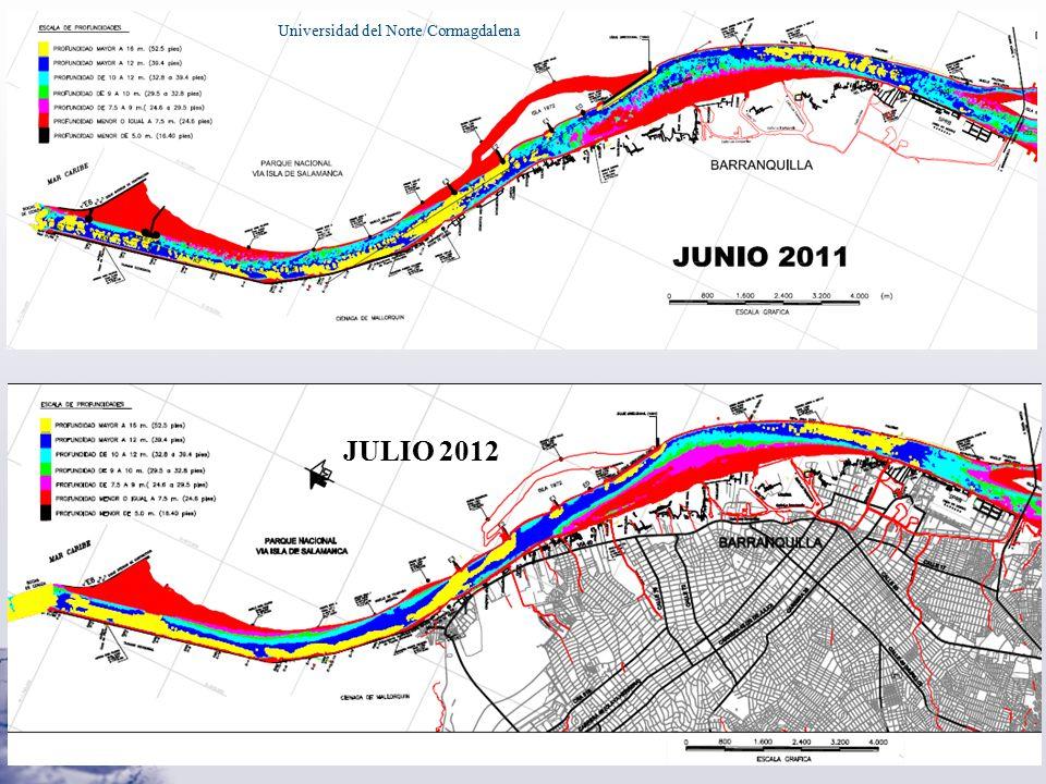 PIANC Universidad del Norte/Cormagdalena JULIO 2012