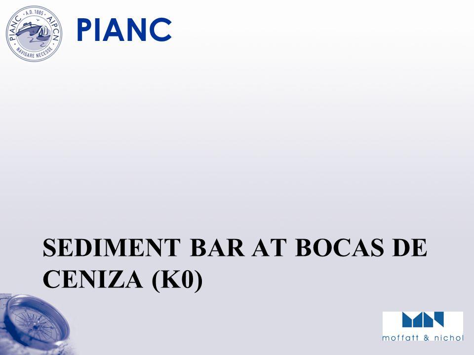 PIANC SEDIMENT BAR AT BOCAS DE CENIZA (K0)