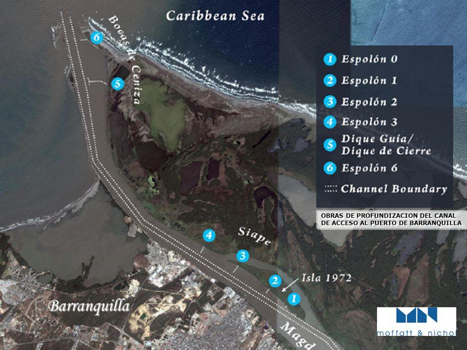 PIANC Barranquilla OBRAS DE PROFUNDIZACION DEL CANAL DE ACCESO AL PUERTO DE BARRANQUILLA