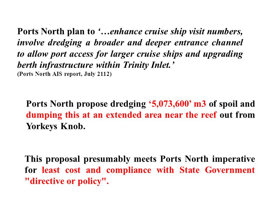 Dredging spoil is a valuable resource.