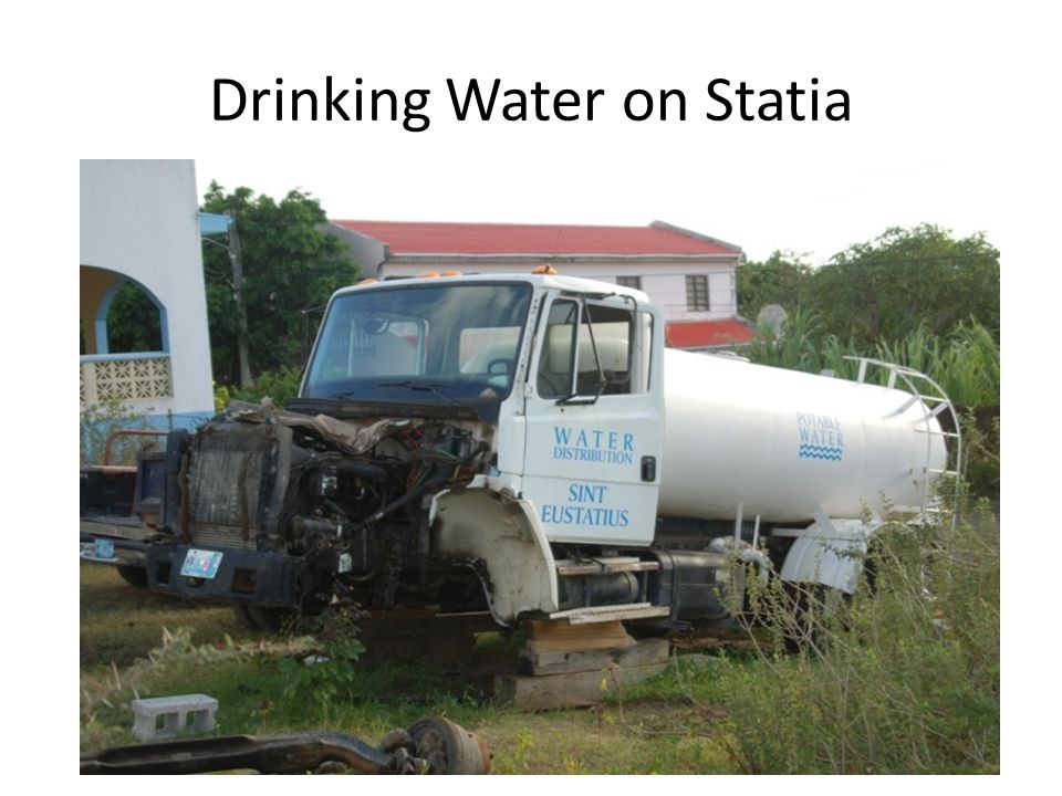 Drinking Water on Statia