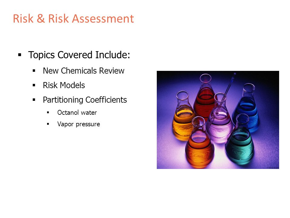 New Chemicals Review Program New Chemicals Review Program – Premanufacture Notice US Environmental Protection Agency Office of Pollution Prevention and Toxics Toxic Substance Control Act – Section 5 Program Goal Serve as a gatekeeper to help manage the potential risk from chemicals new to the marketplace.
