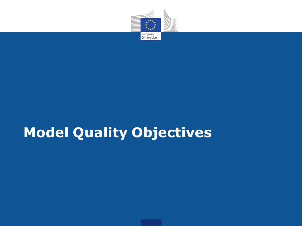 Model Quality Objectives