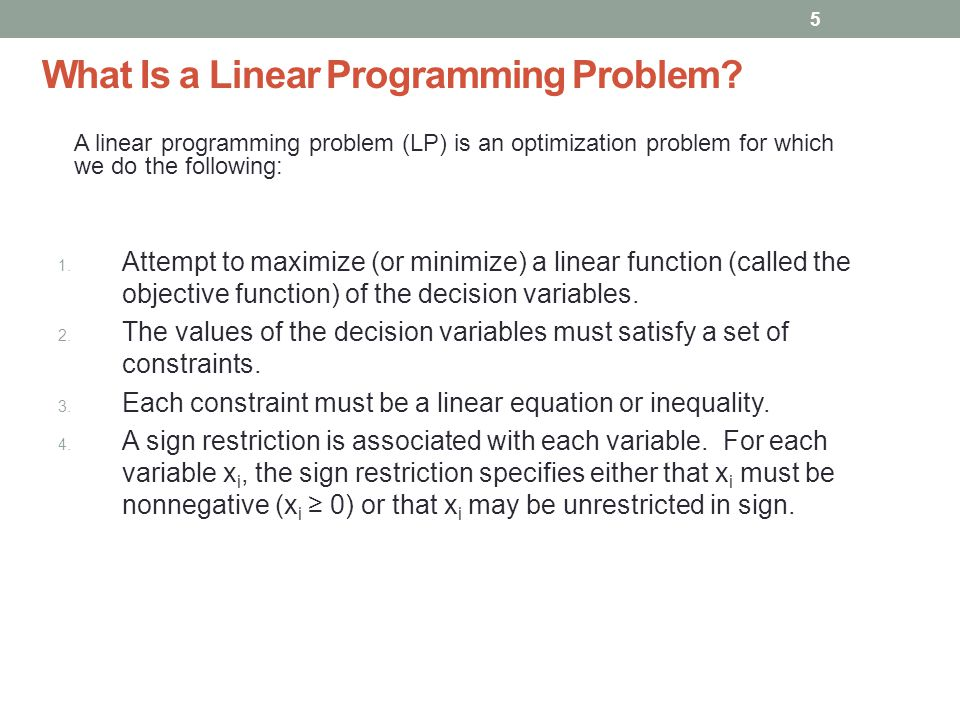 5 What Is a Linear Programming Problem.1.