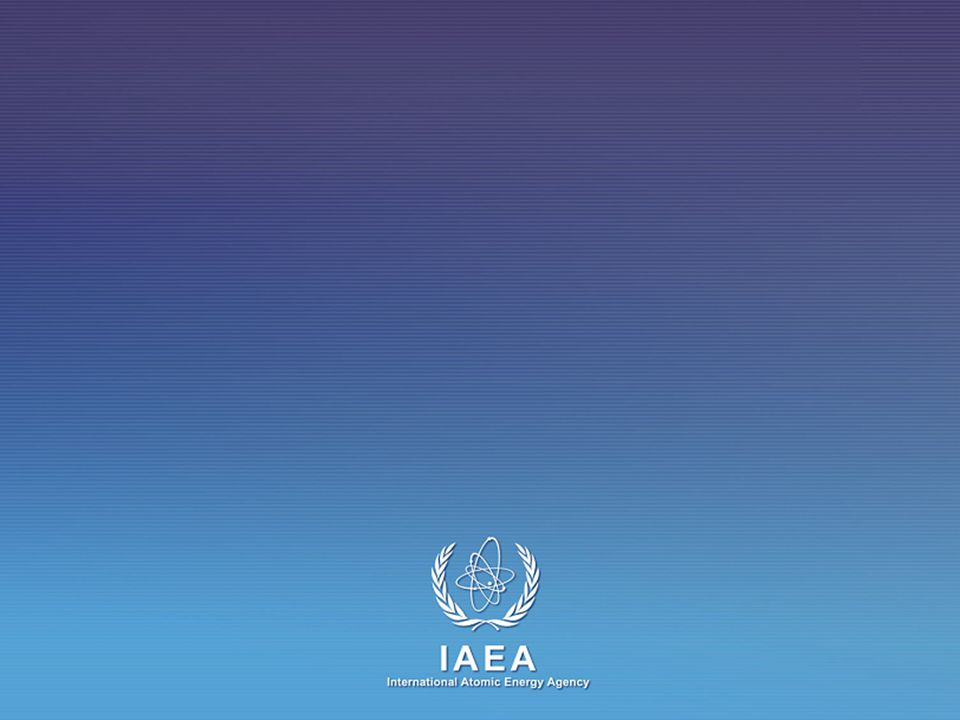 IAEA International Atomic Energy Agency