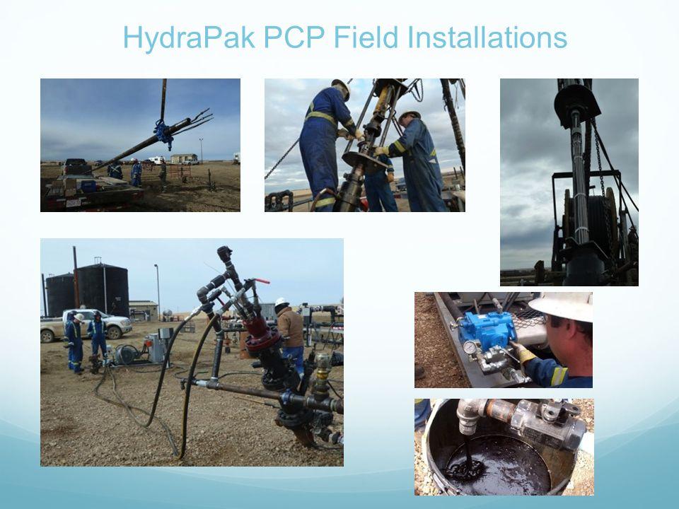HydraPak PCP Field Installations