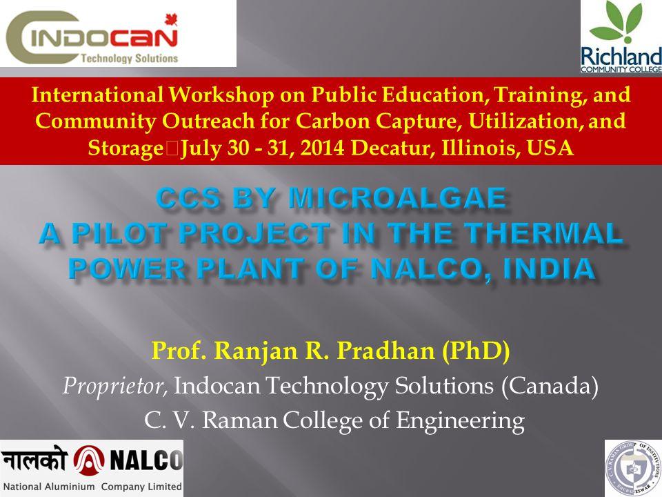 Carbon Sequestration Pilot Cum Demonstration Plant NALCO, - CPPAngul, Odisha, India