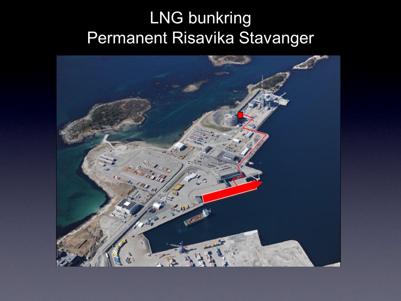 LNG bunkring Permanent Risavika Stavanger