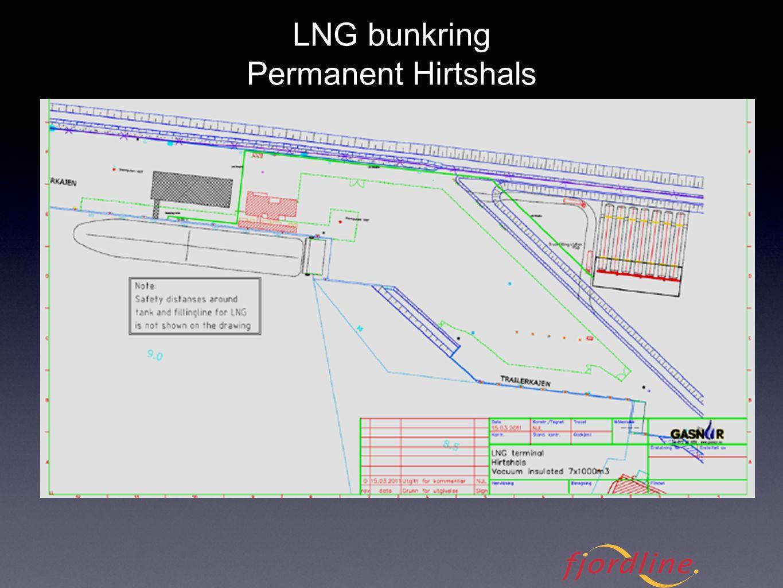 LNG bunkring Permanent Hirtshals