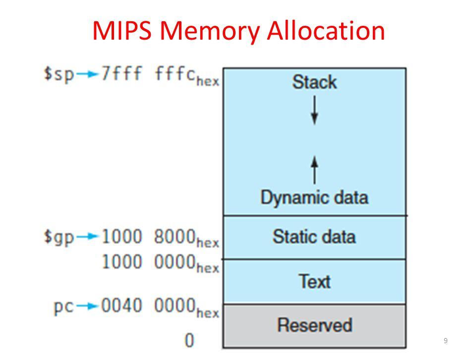 I-Format Instructions (4/4) The Immediate Field: – addi, slti, sltiu, the immediate is sign- extended to 32 bits.