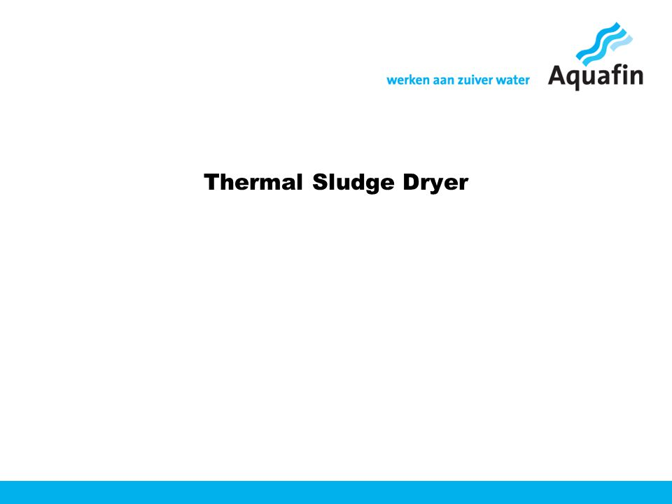 Thermal Sludge Dryer