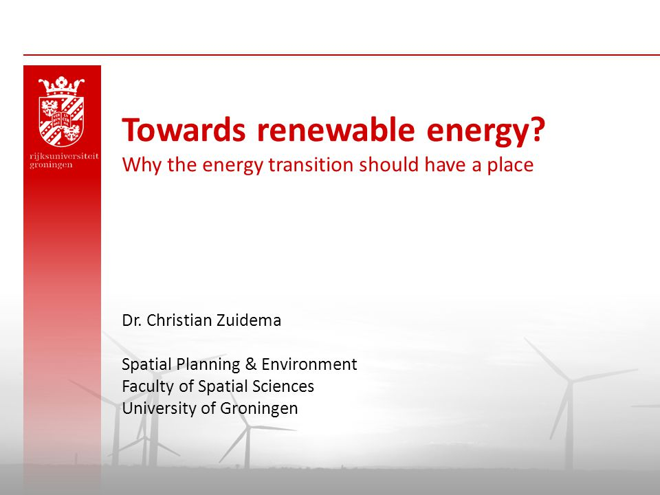Today 1  Issue 2  Energietransition 3  Area-based innovation 4  Questions & Discussion