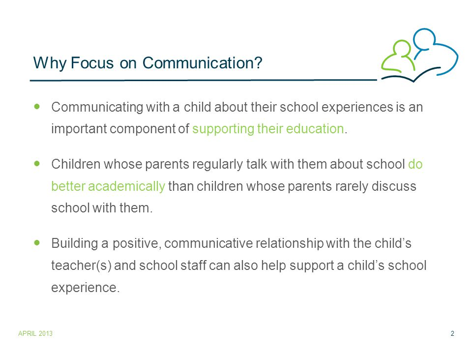Effective Strategies for communication with the child's teacher.