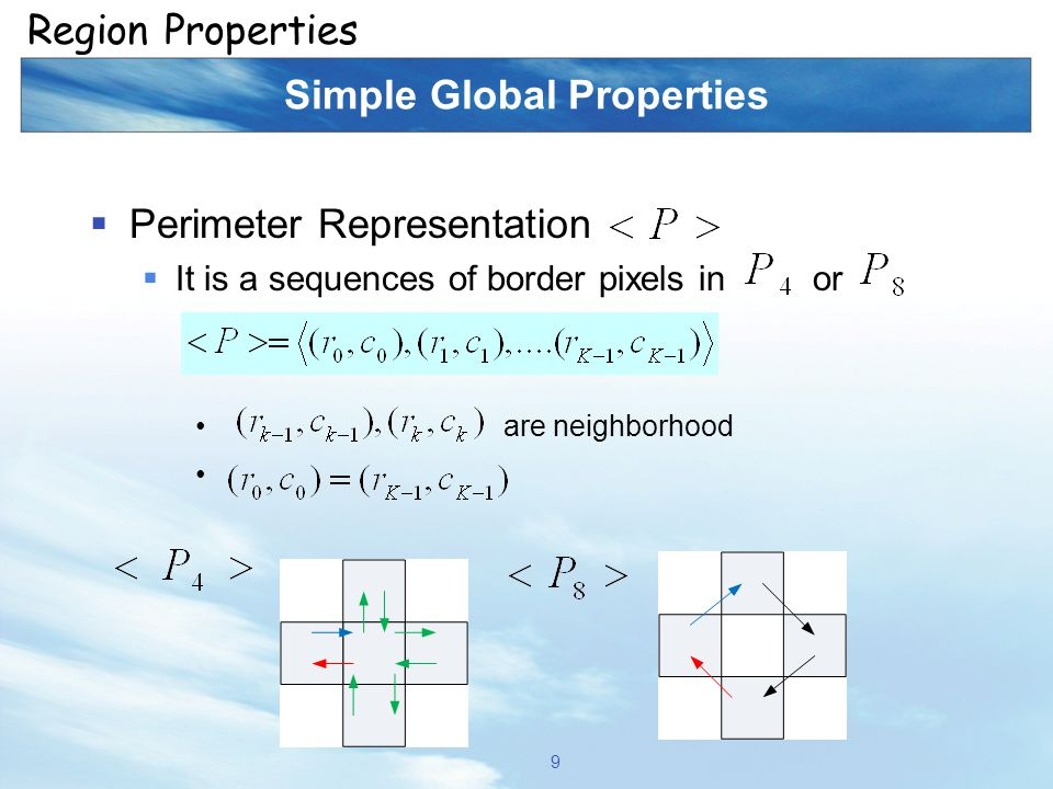 Computer and Robot Vision I Signature Properties Introduction 40
