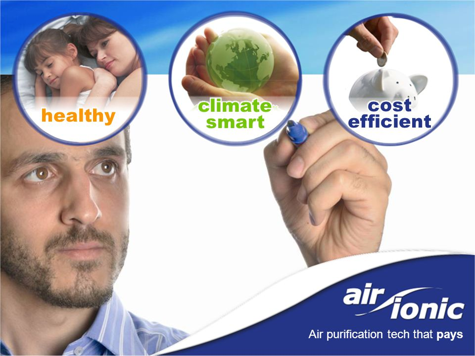 Air purification tech that pays