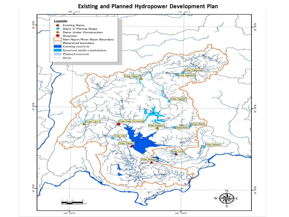Existing and Planned Hydropower Development Plan