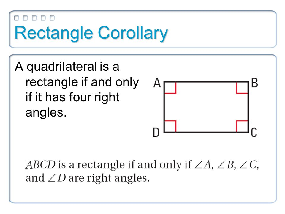 Squares What makes a quadrilateral a square?