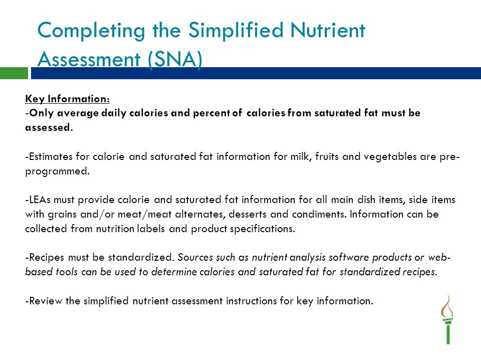 SNA- Vegetable Subgroups Starchy Vegetable Subgroups Select the option that best represents how each subgroup is offered throughout the week.