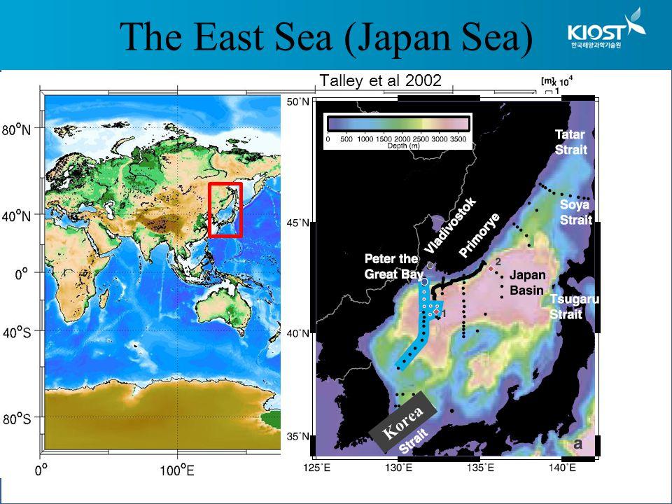 The East Sea (Japan Sea) Talley et al 2002 Korea