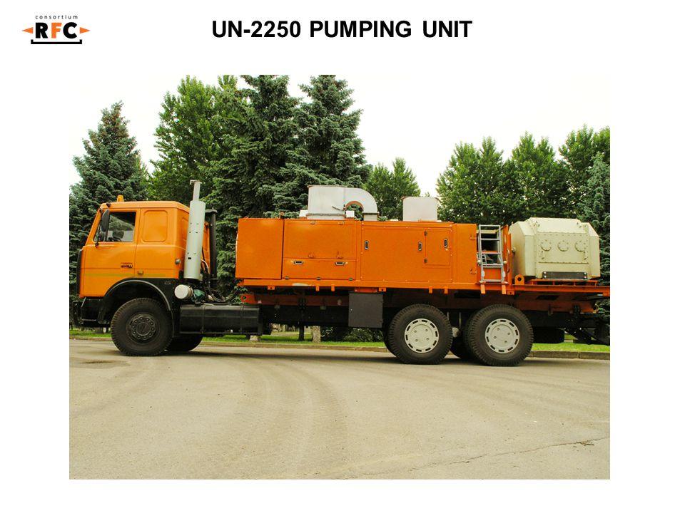 UN-2250 PUMPING UNIT