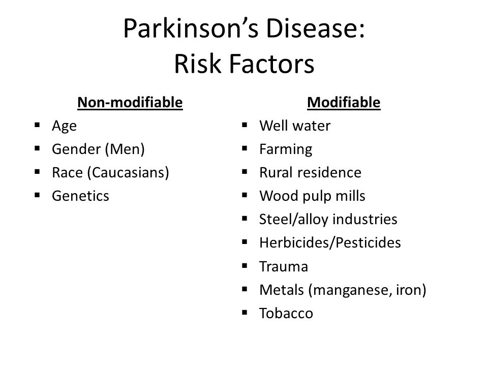 Variance in PD Incidence Due to Known Risk Variables Willis and Racette, unpublished. 13% 7% 4%