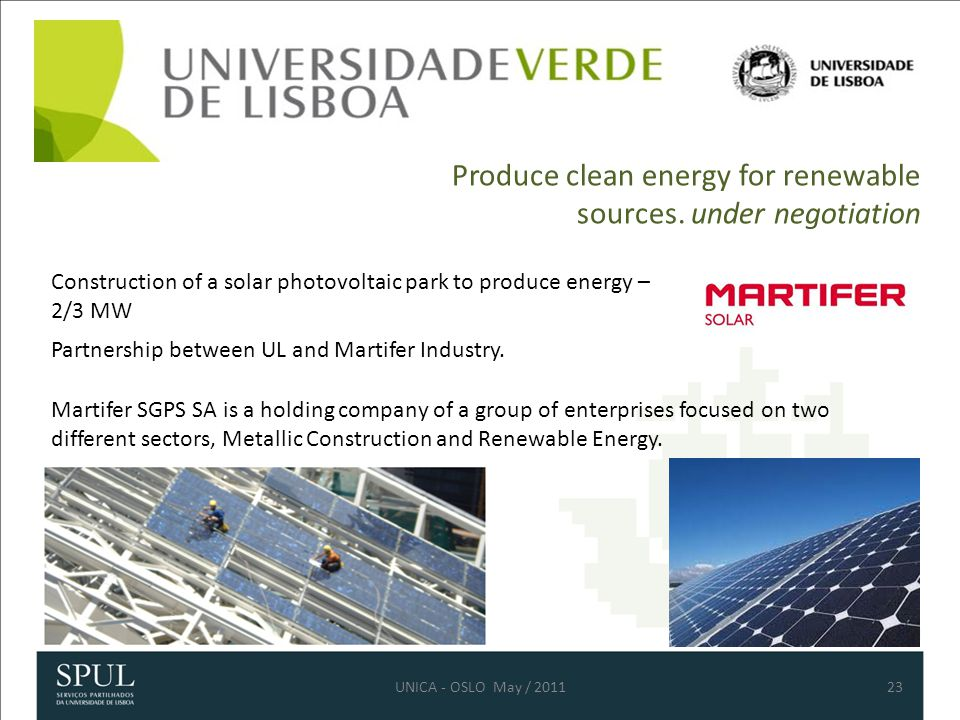 Produce clean energy for renewable sources.