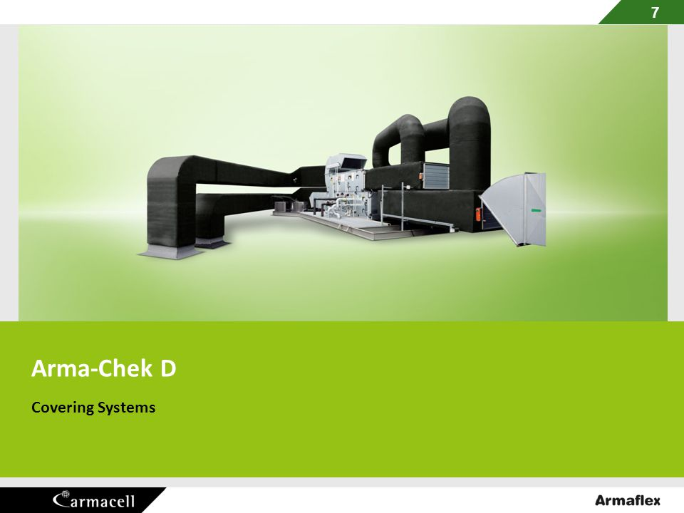 7 Arma-Chek D Covering Systems